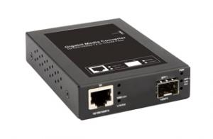 10/100/1000BaseT to 1000SX/LX SFP Media Converter